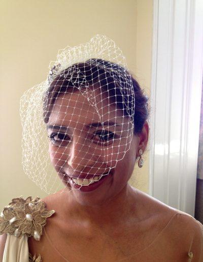 sumi-wedding-wearing-a-birdcage-veil
