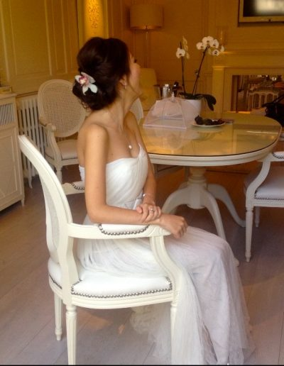 bride from Shanghai getting married at le manoir