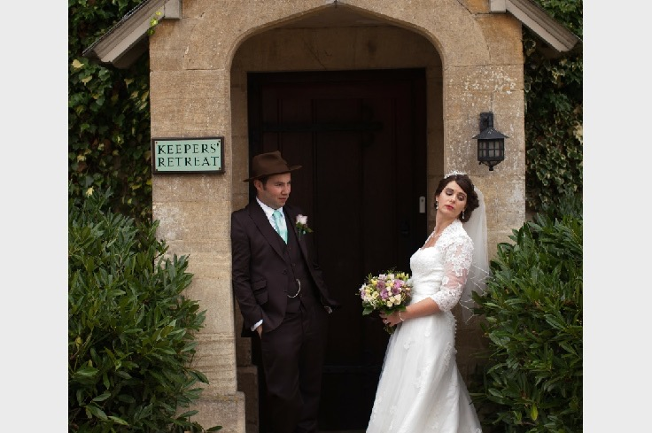 kay's wedding at Caswell house